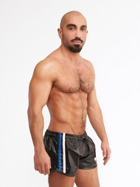 Mr Riegillio MR Mini Short - Black - Blue Stripe