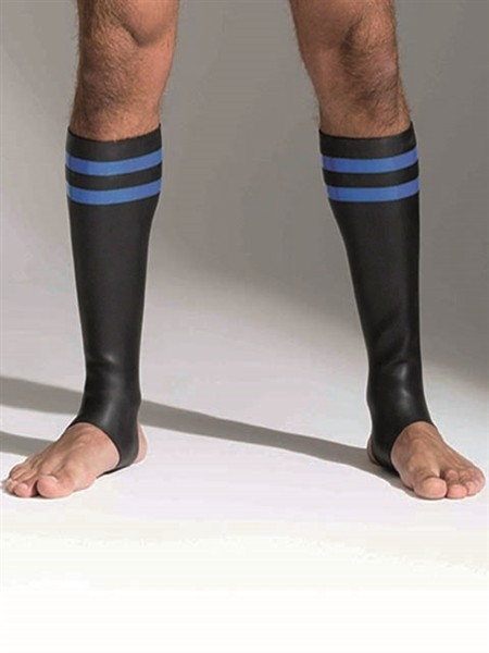 Neoprene Socks Blue Tall