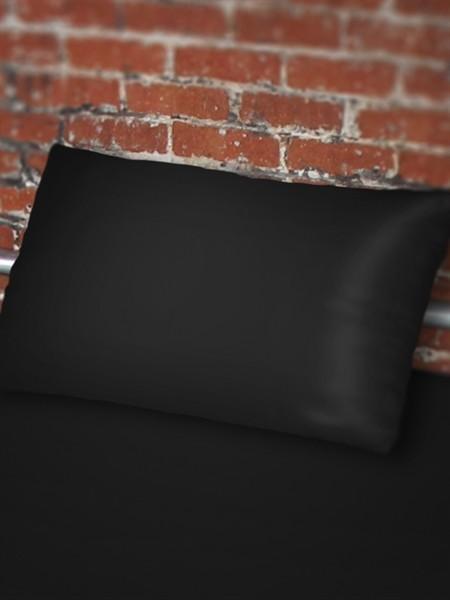 Sheets of SF Pillow case 65 x 65 cm - Black