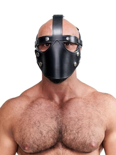 Mister B Leather Face Muzzle Harness