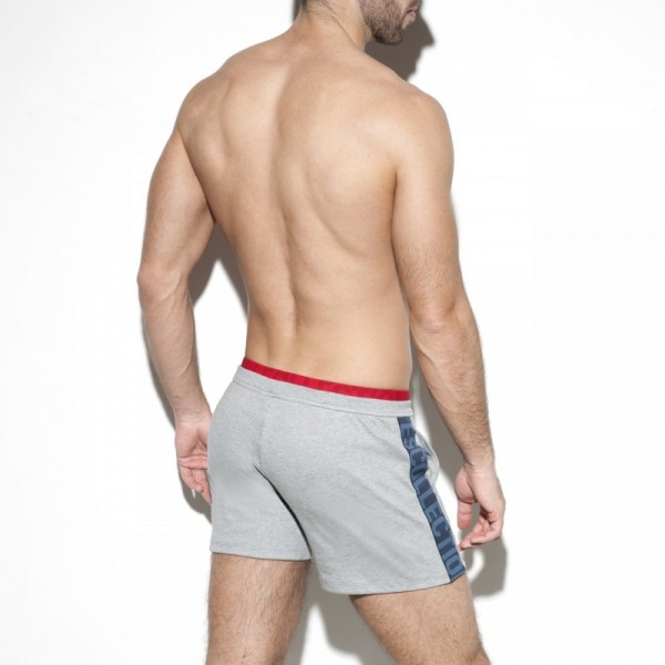 ES - FIT COTTON SHORT - Grey