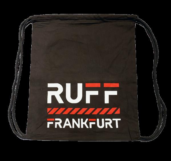 RUFF Baumwollbeutel - Schwarz