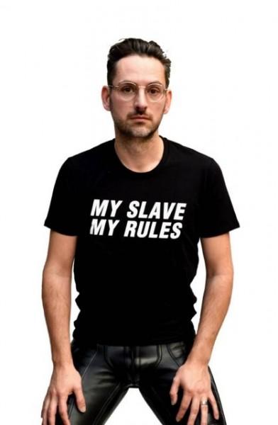 Mister B T-Shirt MY SLAVE