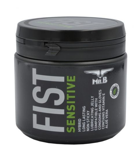 Mister B FIST Sensitive wasserbasiertes Gleitgel 500 ml