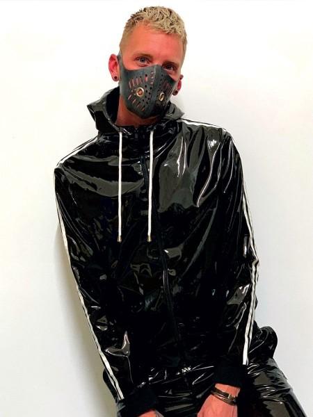 Mr Riegillio PVC Tracksuit Jacket