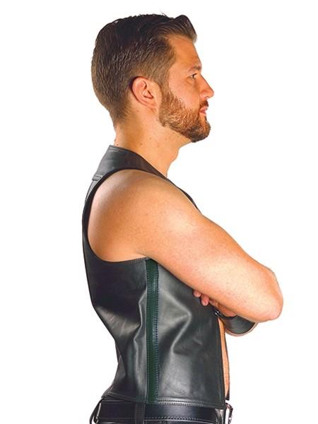 Mister B Leather Muscle Vest
