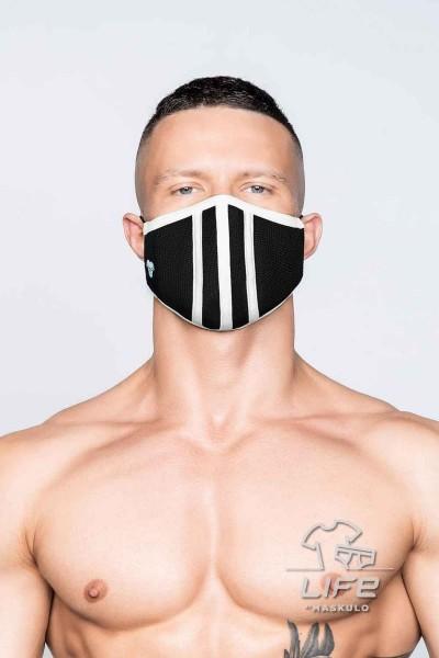 MASKULO - Life 3D Maske - Weiß